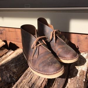 Clark's Original Dessert Brown Leather Boot 10